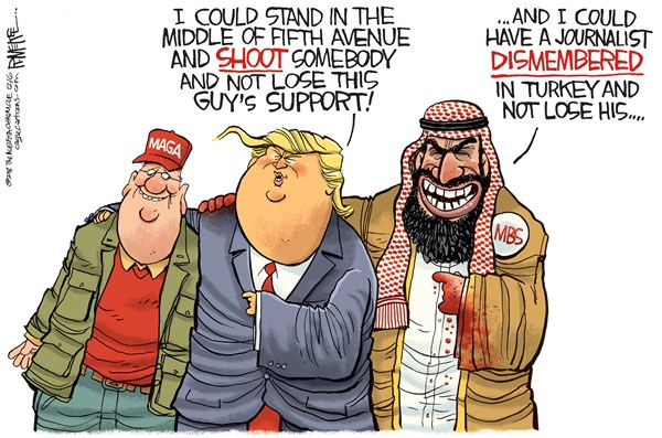 Image result for images of trump with despots MBS PUTIN KIM JONG-UN